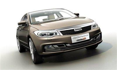 观致首款车型GQ3定妆 日内瓦车展全球首发
