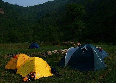 后河――小溪边扎寨露营