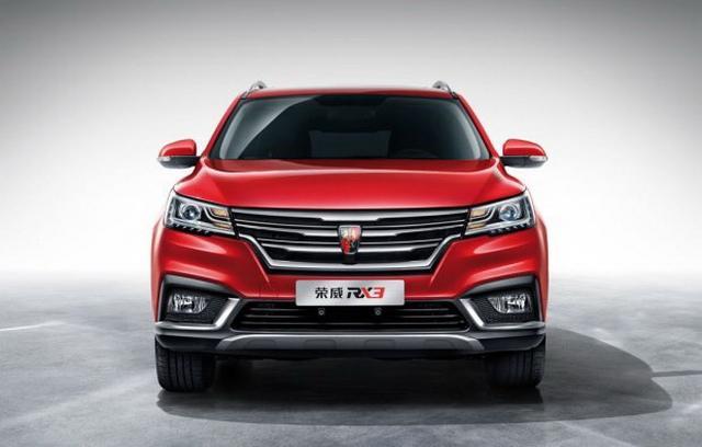 紧凑型SUV又一强力选手 荣威RX3官图公布