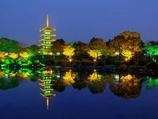 武汉东湖夜景