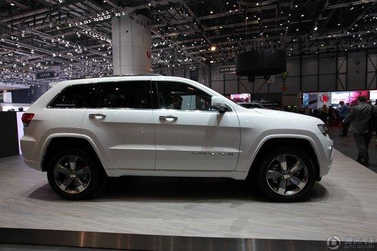 Jeep新款大切诺基车展首发 有望上半年上市
