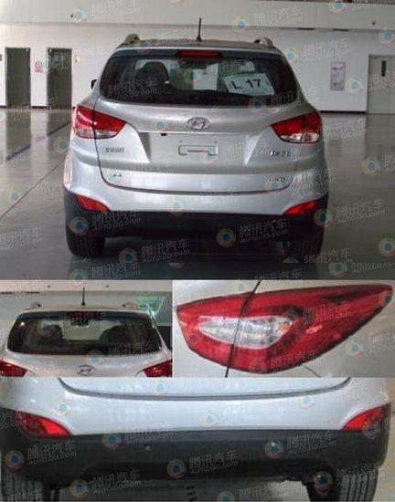[新车谍报]北京现代改款ix35曝光 年内上市