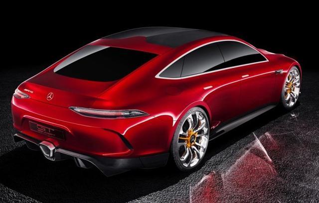 曝AMG GT Concept量产版谍照 竞争Panamera