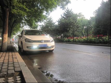 装备日间行车灯 加强车辆主动安全性