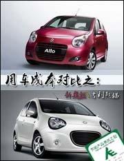 新奥拓、熊猫用车成本对比