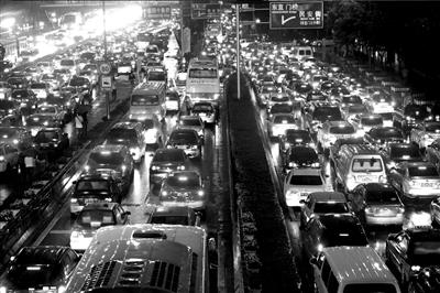 每周3天整治车辆 京多项举措应对最堵9月 -1