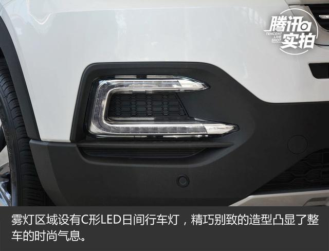 自主SUV重磅旗舰 实拍长安CS95四驱智尊版