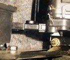 安装前的油门插座
