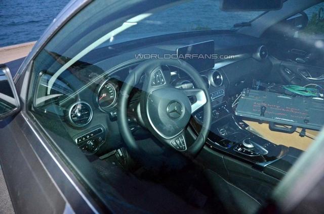 [新车谍报]奔驰新C级插电式混动版油耗仅3L
