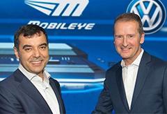 大众联手Mobileye开发自动驾驶导航标准