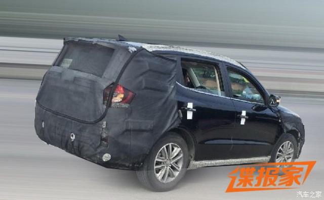 曝新款远景SUV谍照 新增1.4T发念头