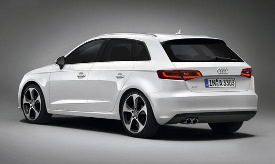 奥迪A3 Sportback五门版车型将在下月开幕的巴黎车展上首发亮相,日前一张新车的疑似官方照片被提前曝光出来
