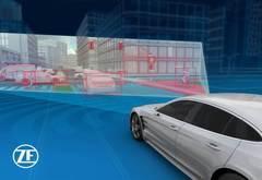 助力自动驾驶,采埃孚展示数字化全方位视野的传感器架构