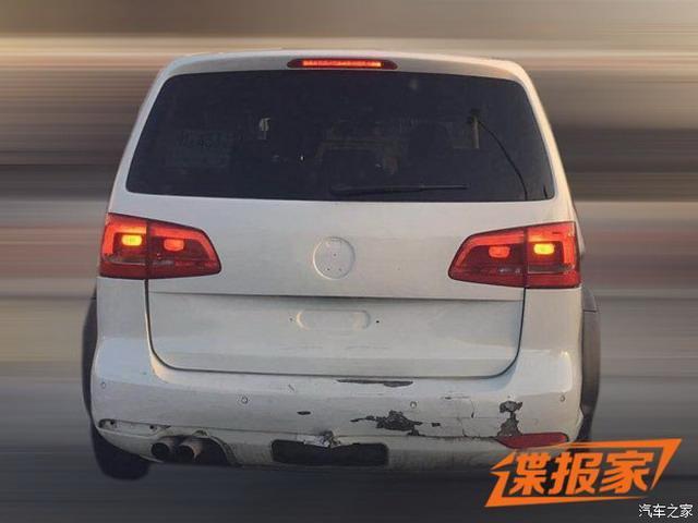 曝一汽-公共新SUV骡车谍照 2018年12月上市