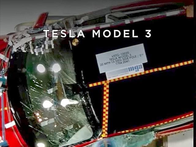 为说明Model 3安全性能 马斯克拿沃尔沃来做对比
