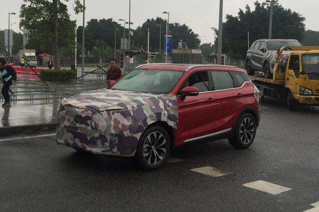 中华V6馆外亮相 全新紧凑型SUV