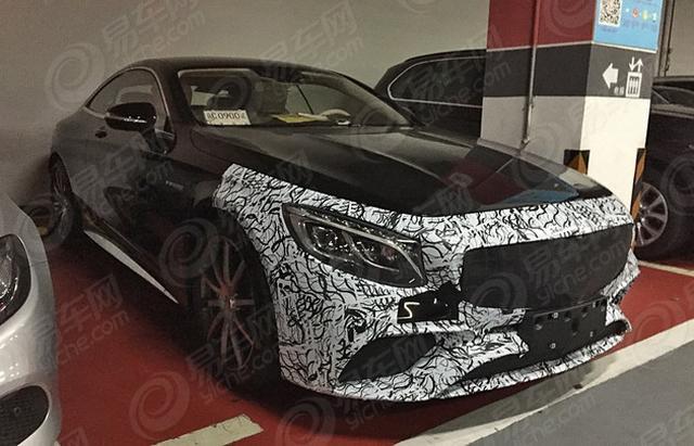 奔驰全新AMG S 63 Coupe 有望广州车展亮相