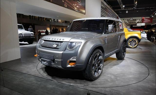 [海外车讯]路虎注册Landy商标 将推小型SUV