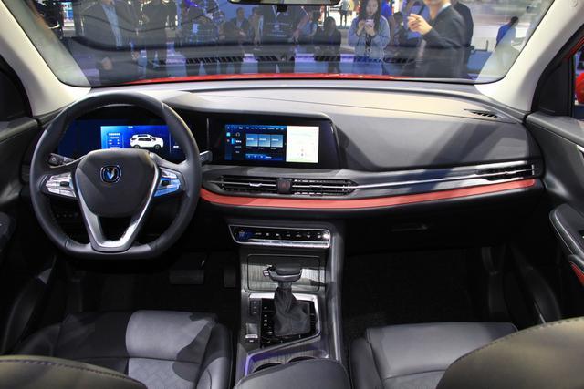 新车来了:动线车身、硬朗腰线 解读长安CS55 PLUS