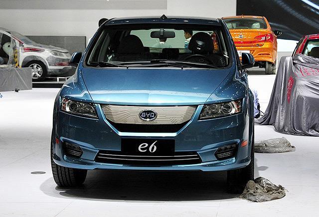 [新车上市]比亚迪e6先行者豪华版售30.98万