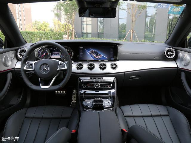 新款奔驰E级轿跑车上市 售52.88万元起