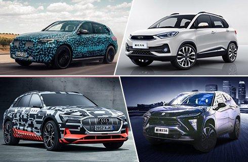国内国外都爱纯电SUV 这6款最值得关注