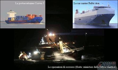 盖世汽车讯 据路透社报道,当地时间12月5日,一艘汽车运输货轮与一艘集装箱运输船在大西洋相撞,造成5人丧生6人失踪,前者所载的1,400辆三菱新车沉入海底。