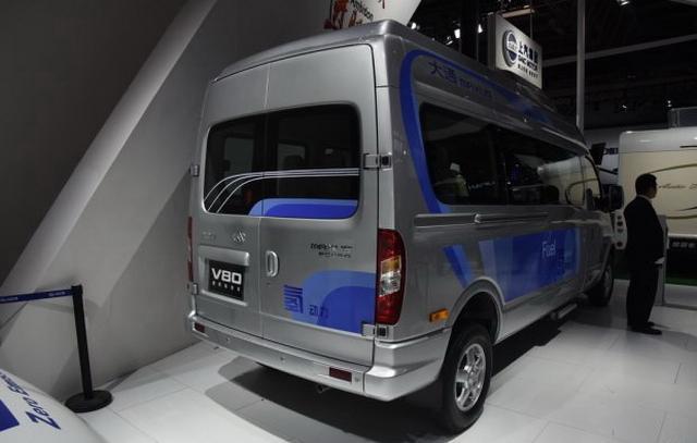 上汽大通V80燃料电池车 有望广州车展上市