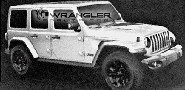 Jeep新牧马人官方效果图 还是那个硬汉