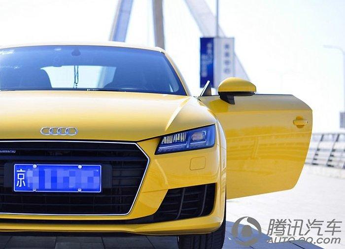 奥迪TTQ作业 黄色小清新