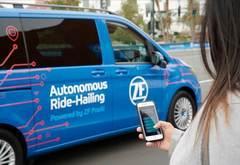 没有方向盘和踏板,采埃孚发布L4级机器人出租车