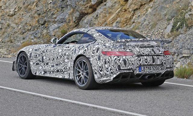 奔驰AMG GT R今年夏天推出 动力或达550Ps