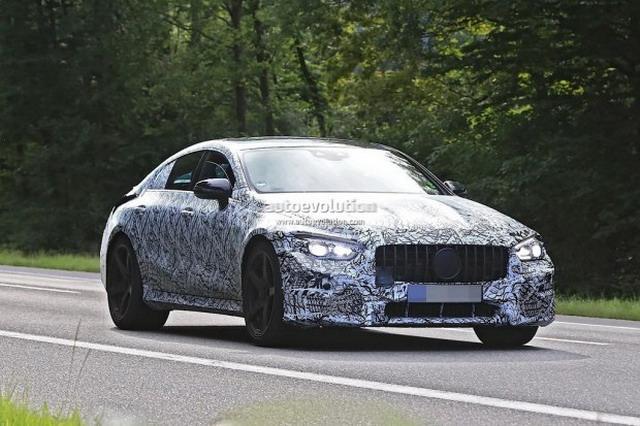 AMG GT Concept量产新谍照 或于明年推出