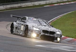 宝马全新M6 GT3赛车纽博格林赛道测试