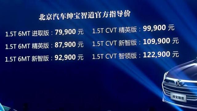 1.5T CVT新智版更具性价比 绅宝智道购车手册