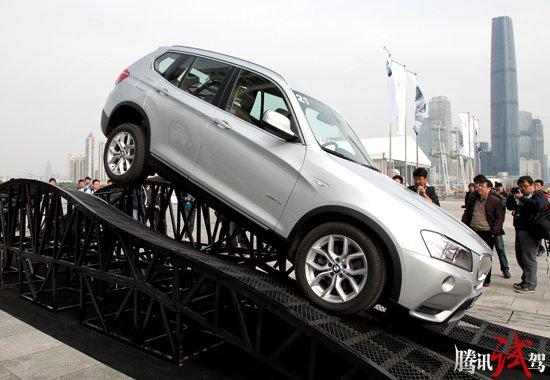 续写X神话 腾讯试驾BMW新X3 xDrive35i