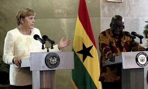 加纳与德国总理默克尔会谈 计划就汽车组装与大众合作