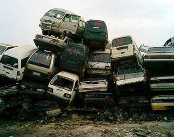 国内报废汽车遭遇回收难 常遭私拆滥解_车周刊_腾讯汽车
