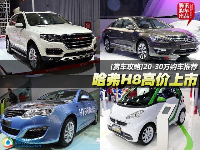 [车展导购]哈弗H8高价上市 20-30万车推荐