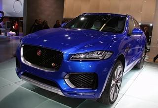捷豹首款SUV车型F-PACE全球首发亮相