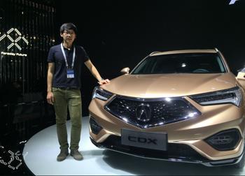 牛编体验团之广汽讴歌CDX 同级最个性SUV