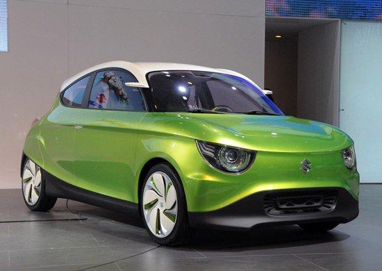铃木G70概念车亮相北京车展 搭新涡轮引擎