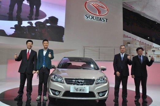 东南汽车携双品牌精英车型亮相上海车展