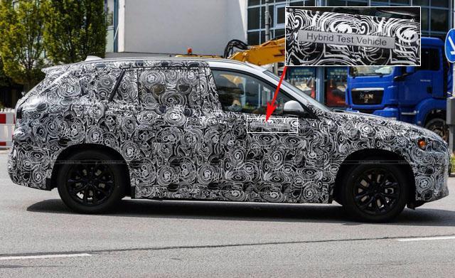 宝马新一代X1 Li信息披露 将推混动车型
