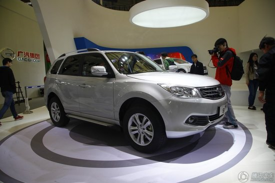 海马新款SUV车型S7车展首发 或上半年上市