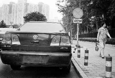 《每日猜车》第775期:禁行道的无牌车