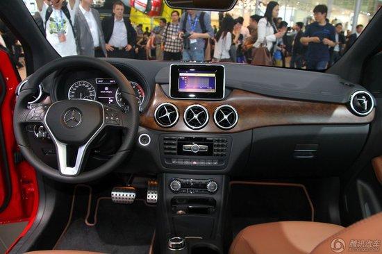 [新车解析]奔驰全系B级车型北京车展亮相