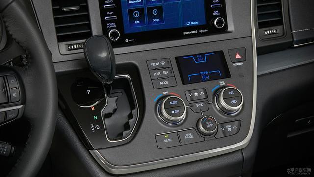 新款丰田Sienna官图发布 配置全面升级