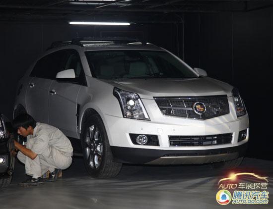 [成都车展探营]凯迪拉克CTS-V Coupe即将首发