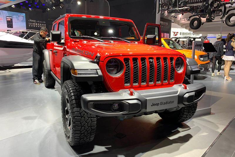 车展探营:实用性大增 Jeep Gladiator皮卡实车
